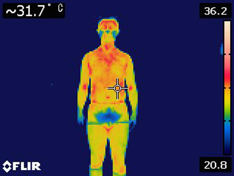 フレサーモαの発熱中綿ジャケット