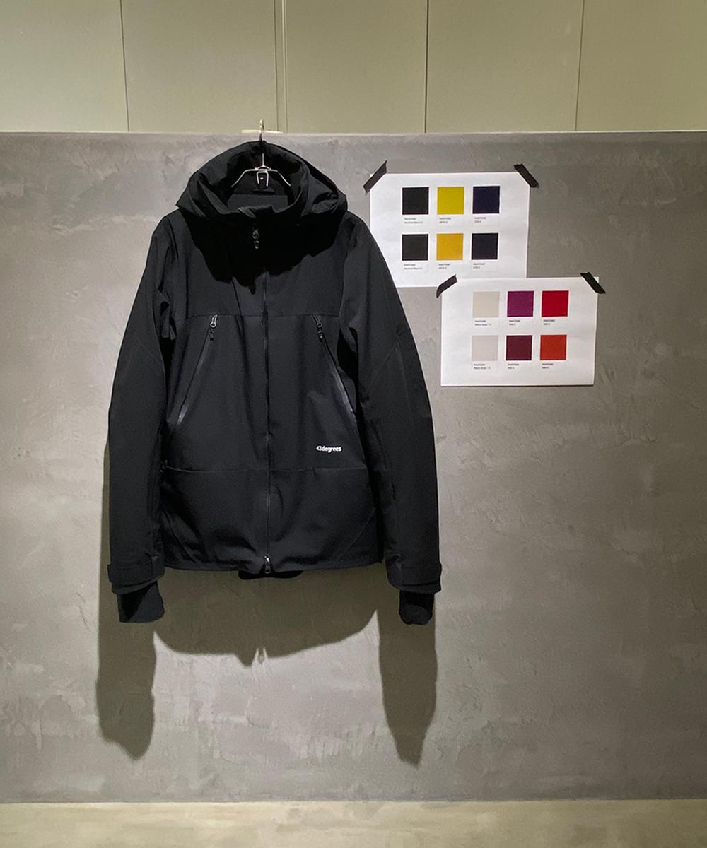 Peak Jacket と Hang Pants カラーイメージ